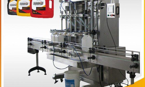 500ML-2L স্বয়ংক্রিয় তরল ডিটারজেন্ট ফিলিং মেশিন / ওয়াশিং লিকুইড ফিলিং মেশিন