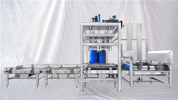 কাস্টমাইজযোগ্য ইএসডিএফ সিরিজ 100-1000L ক্যাপাসিটি বিগ ড্রাম স্বয়ংক্রিয় ফিলিং মেশিন
