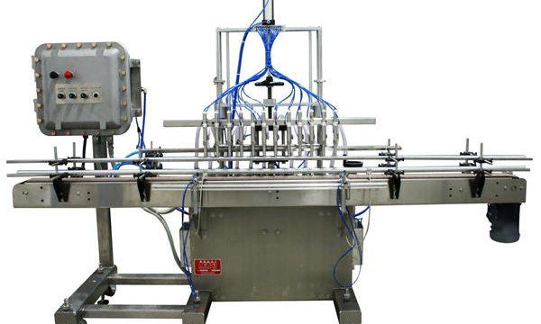 স্বয়ংক্রিয় পিস্টন তরল ফিলিং মেশিন 50 এমএল -1 এল
